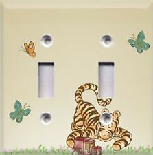 Classic Winnie The Pooh~ Tigger~Light Switch Plate Cover ~Kids Room Decor