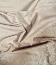 Taupe Genuine Lambskin Tanned Leather Hides with Fish Scales Pattern FS899