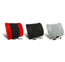 12V Electrical vibration Massage Lumbar Back Support Cushion Pillow for Car