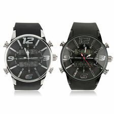 Fashion Quality Round Quarts Wrist Watch Stylish Silicon Watch for FUCAD BG