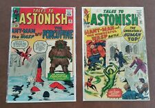 TALES TO ASTONISH #48 and #50 1st Appearance Porcupine and Human Top