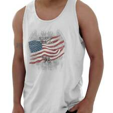 USA T Shirt Flag Bald Eagle Est. 1776 Mens Gift Ideas Graphic Tank Top Shirt