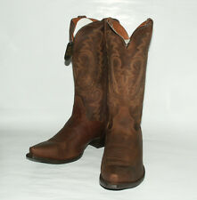 Bay Apache Dirty Bull Man's (13EE) Western Boots~ RetroSnipToe ~Dan Post DP2297