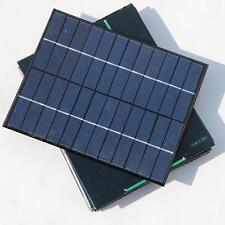 5.2W polyCrystalline Cells Solar Panel 6V /12V Poly Solar Module Battery Charger