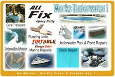 All-Fix Epoxy POOL Putty Underwater Swimming POOL SPA TINTABLE TO MATCH POOL !