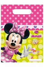 Disney Minnie  Mouse Bow-Tique Birthday  Party Loot Bags Choose Quantity