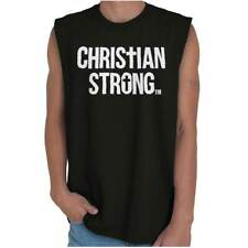 Jesus Faith Christian T Shirts Jesus Christ Novelty Gift Cool Sleeveless Tee
