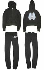 Wildfox Couture 60s Fell From Malibu Sweater Hoodie + Sweat Pants Tracksuits