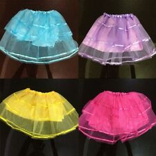 Baby Girls Kids Tulle Tutu Skirt Translucent Princess Party Ballet Dancewear NEW