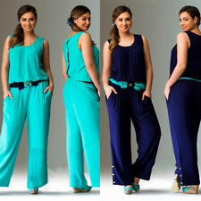 Large size Jumpsuit Rompers Summer Plus Size Women Clothing Overalls 6XL Casual
