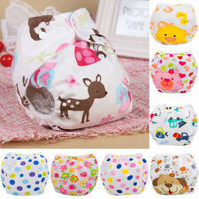 Newborn Baby Breathable Diaper Cover Cloth Adjustable Reusable Pocket Nappy Wrap