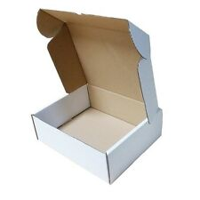 White Postal Cardboard Boxes  Small Mailing Shipping Cartons - Multilisting
