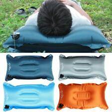 Portable Waterproof Inflatable Soft Air Pillow Cushion Camping Hiking Travel New
