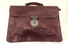 Will Leather Goods Jacques Hand Burnished Veg Tanned Leather Portfolio Briefcase