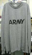 US ARMY LONG SLEEVE PT SHIRT FITNESS IPFU MEDIUM LARGE XLG XXLG XXXLG NEW