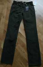 "BNWT TIMBERLAND EARTHKEEPERS THOMPSON LAKE SLIM GREEN CORDUROY JEANS 28"" X 34"""