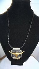 """Fashion Jewelry Necklace Braided Leather Cord 18-20"""" WESTERN Statement Pendants"""