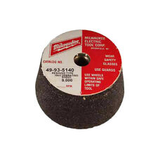 Milwaukee 49-93-5220 5-Inch 16-Grit Aluminum Oxide Flared Cup Wheel