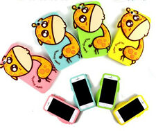 3D Cute Fashion Ice Cream Soft Silicone Skin Cover Case For iPhone 5/5S