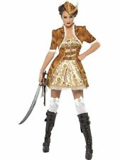 Fever Steam Punk Sexy Pirate Costume- Adult Woman Outfit Fancy Dress
