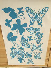IDS UK DURABLE BUTTERFLY VINYL STICKERS&CAR ACCESSORIES WALL DECALS,NURSERY KIDS