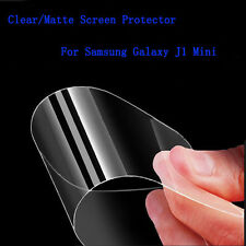 Clear / Matte Screen Protector For Samsung Galaxy J1 Mini + Cleaning Cloth Lot