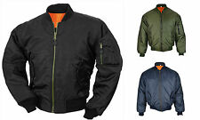 MA1 Army Pilot Biker Bomber Flight Military Security Doorman Harrington Jacket
