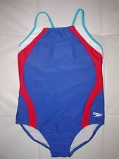 ~SPEEDO Girl 1 Pc PATRIOTIC Swim Bathing Suit YOUTH ** SIZE VARIETY** NEW