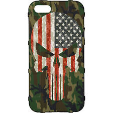 Magpul Field Case for iPhone SE,4,5,5s.  Custom ERDL US Woodlands USA Punisher