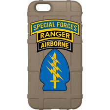 Magpul Field Case for iPhone SE,4,5,5s. Custom Special Forces, Ranger Airborne