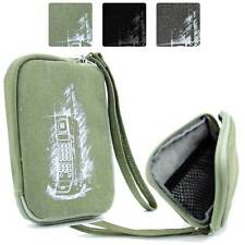 Digital Camera Protective Zipper Canvas Pouch Case FSLMRV-25