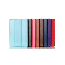 Leather Magnetic Smart Cover Hard Back Case Stand for Apple iPad Air 2