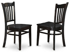 Set of 2 Groton Dining Chair With Wood Seat