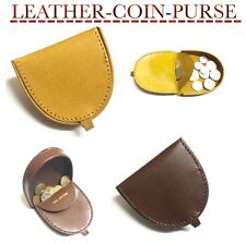 MENS COIN WALLET PURSE COIN CHANGE POUCH TRAY BLACK BROWN COLOURS COIN PURSE