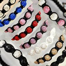 10mm Shamballa Bracelet Paris Disco Crystal Ball Bead UK Unbranded Part 2