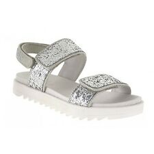 Lelli Kelly lk 9406 Greta Leather Silver Sandals With Gift