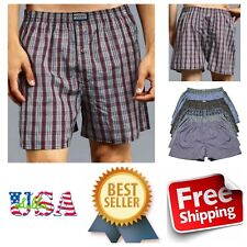3 6 12 Mens Knocker Boxer Shorts Underwear Pairs Lot Cotton Boxer Brief  S-3XL