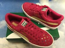 Puma Girls Suede Dotfetti Jr Retro Sneaker kids Size 11 to 6 / Women Size 7.5