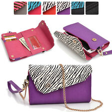 Lady Link Wallet Case & Crossbody Clutch Cover for Smart-Cell-Phones CRSL10
