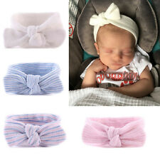 Baby Infant Toddler Newborn Girls Rabbit Bow Elastic Headband Hair Band Headwrap