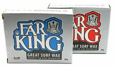 Far King 'Serious Traction' Original Surfboard Wax 1x Base and 1x Cool