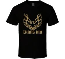Pontiac Firebird Trans Am T-Shirt GM Retro Vintage Car New Black Tee