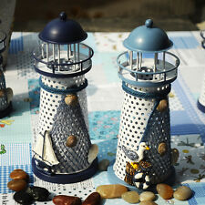 LED Lighthouse Candlestick Candle Holder Light Lamp Home Wedding Party Decor
