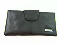 Ladies Womens Large High Quality Leather Purse Credit Card Holder Wallet Pouch