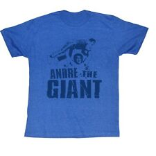 Andre The Giant T-Shirt – Andre Blue Wrestling Turquoise Heather Adult Tee