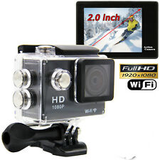 "Upgraded SJ4000 WiFi 1080P 2"" LCD Car DVR Action Sport DV Digital Video Camera"