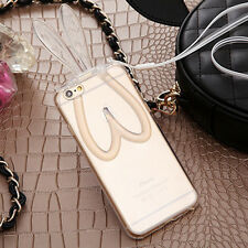Fashion Ultra Thin Silicone Gel Rubber Clear Case Cover For iPhone 6/6S Plus New