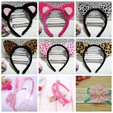 1PCS Baby Girls cat ear Headband Hair Band Accessories Headwear Kids Cute Infant
