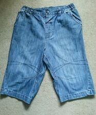 Boys Blue Denim Shorts age 14 by NEXT