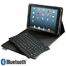 BRAND NEW Brookstone Bluetooth Keyboard with Tech-Grip Case for iPad mini Tablet